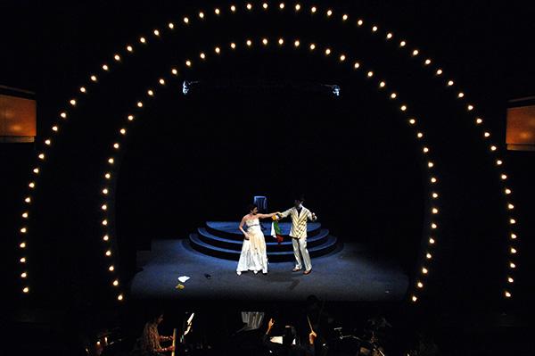 Imagen de la ópera 'Salón de Anubis' (2007). Foto de David Ruano.
